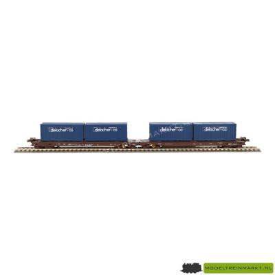 46563 Roco Dubbele containerdraagwagen ÖBB
