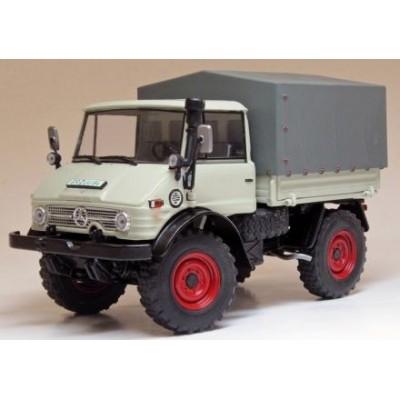 1044 Weise Unimog 406 (U84) kiezelgrijs (1971-1989)