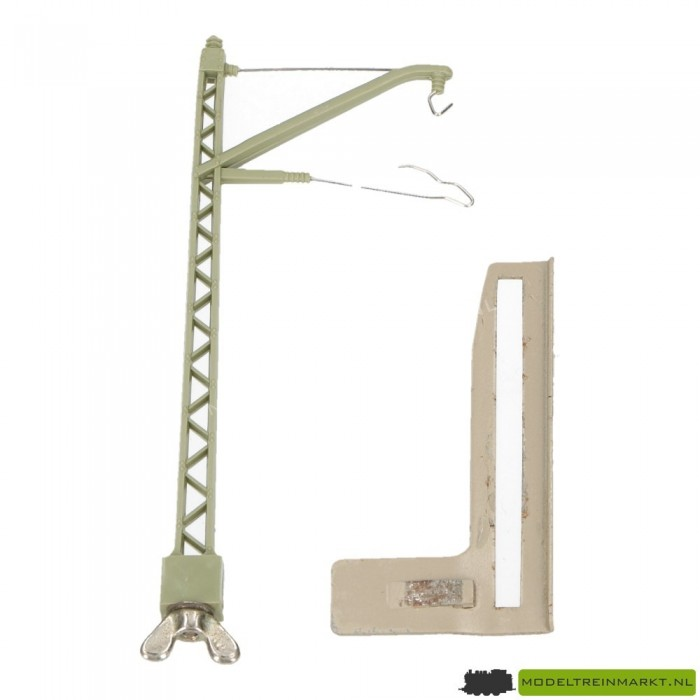 7011 Brugmast voor metalenbrug