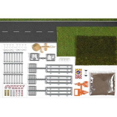 1166 Busch Set wegwerkzaamheden en maaiwerk