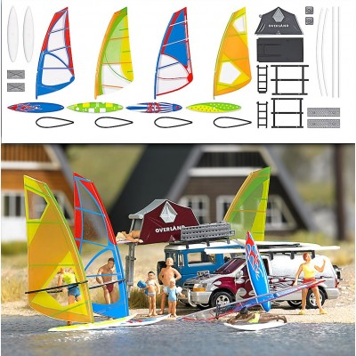 1156 Busch Surfplanken-set