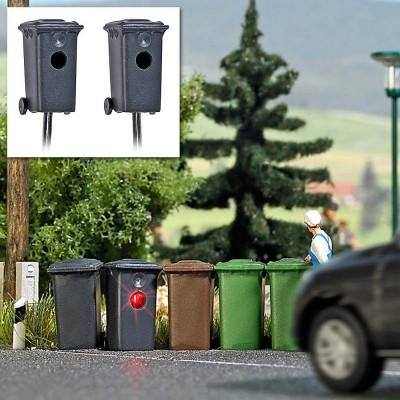 5633 Busch 2 snelheidscontroles in vuilnisbakken