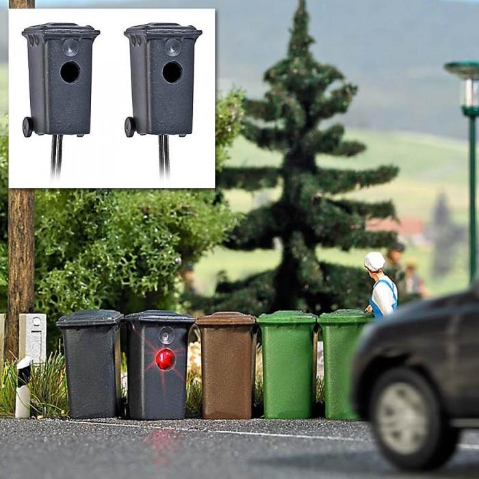 1023 Busch 2 snelheidscontroles in vuilnisbakken