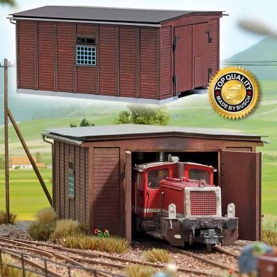 1424 Busch Schuur voor kleine locomotieven