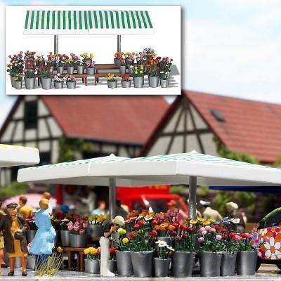 1072 Busch Marktkraam bloemen