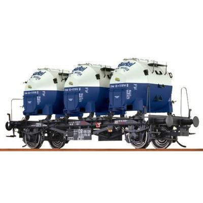 37151 Brawa Containerdraagwagen 'Birkel' DB