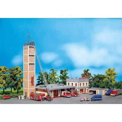 130989 Faller Brandweerkazerne