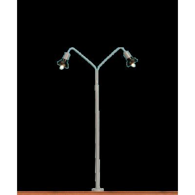 84055 Brawa 2-armige gebogen lantaarn Stecksockel