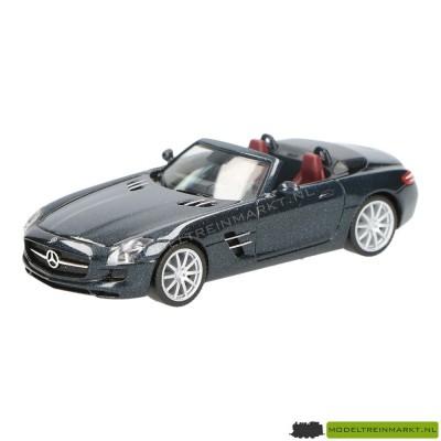 Herpa MB SLS Roadster zwart metallic