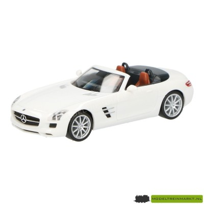 Herpa MB SLS Roadster wit
