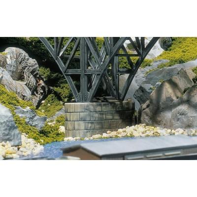 120538 Faller Betonnen brugpijlers