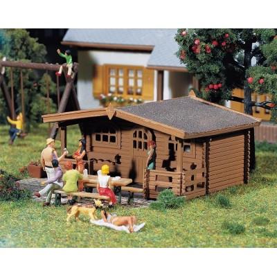 130208 Faller 3 Tuinhuisjes