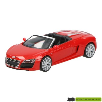 Herpa Audi R8 cabrio rood