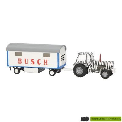42814 Busch Traktor Fortschritt mit Anhänger