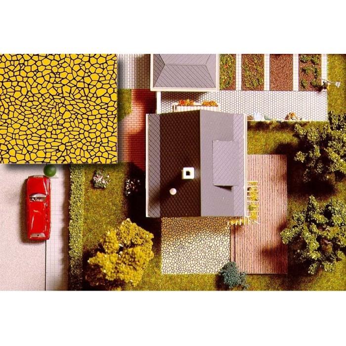 7419 Busch Decoratieplaten Houten planken