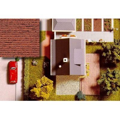 7039 Busch Decoratieplaten Houten Planken