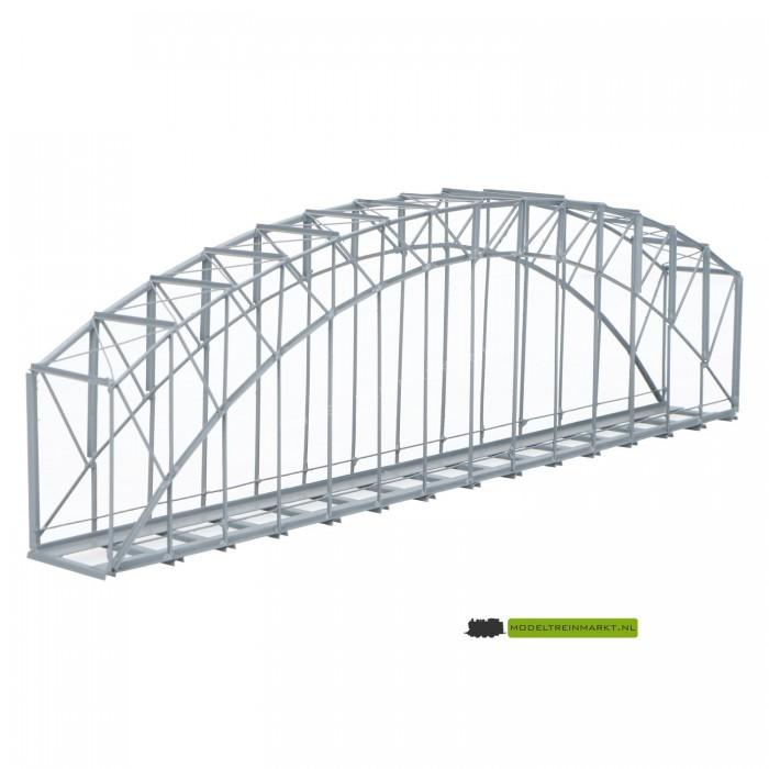 BN27 Hack Brücken Boogbrug grijs metaal enkelsporig
