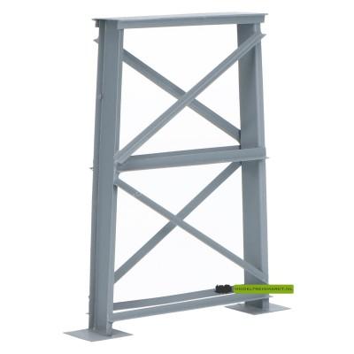 P100 Hack Brücken Brugpeiler 100 mm grijs