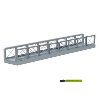 F18 Hack Brücken Voetgangersbrug metaal grijs