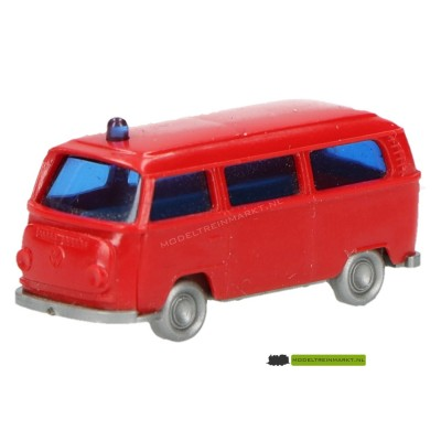 Wiking VW Transporter Polizei rood