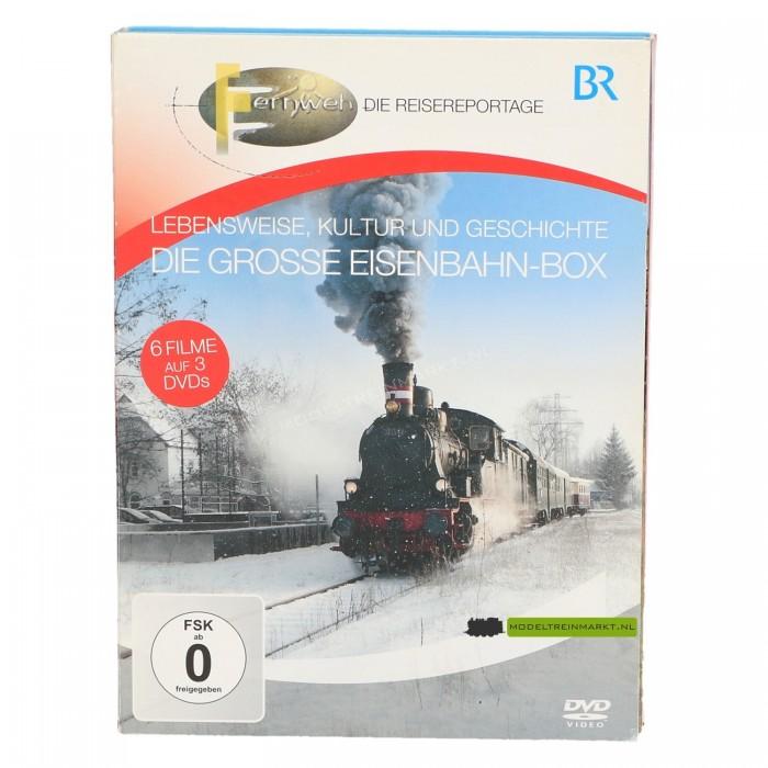 DVD Lebensweise, Kultur und Geschichte, Die grosse Eisenbahn-box