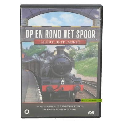 DVD Op en rond het spoor Groot-Brittannië