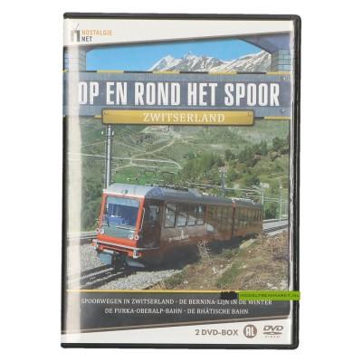 DVD Op en rond het spoor Zwitserland