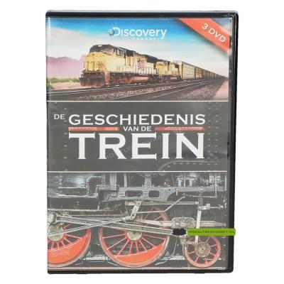 DVD De geschiedenis van de trein
