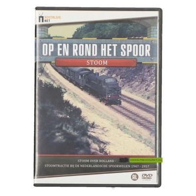 DVD Op en rond het spoor Stoom