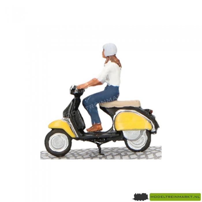 Brommer met licht Bicyc-led HO