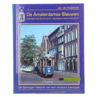 De Amsterdamse Blauwen - Motorrijtuigen series 396-445&446-475 aanhangrijtuigen series 901-930&931-950 - Jan-van-Huijksloot