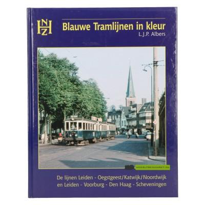 Blauwe Tramlijnen in kleur- L.J.P. Albers