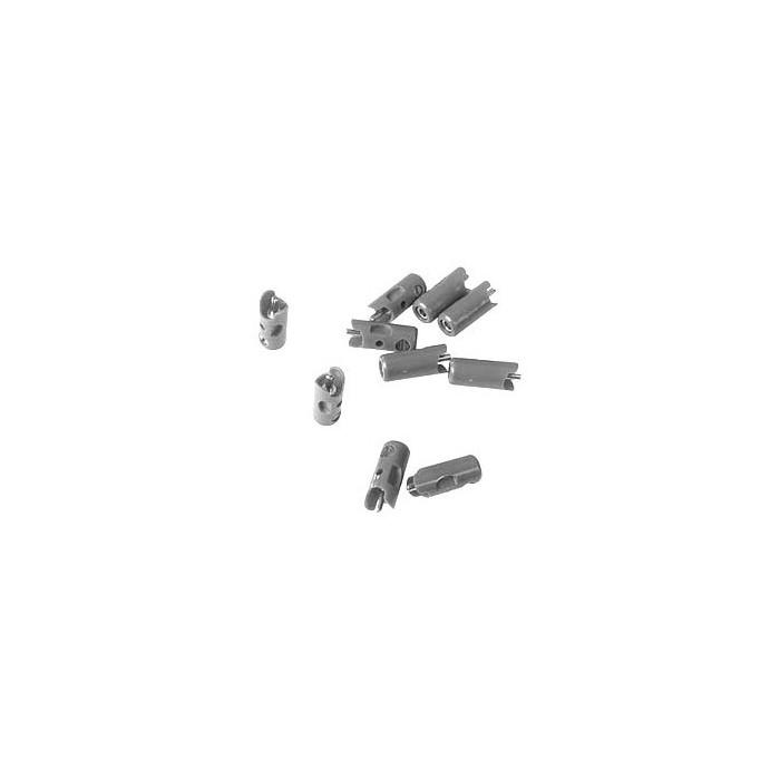 71416 Märklin Steker Grijs 10 stuks