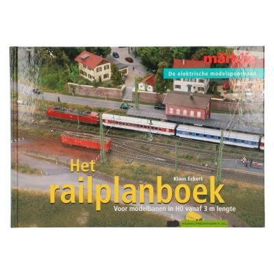 07452 Het railplanboek Märklin - Klaus Eckert