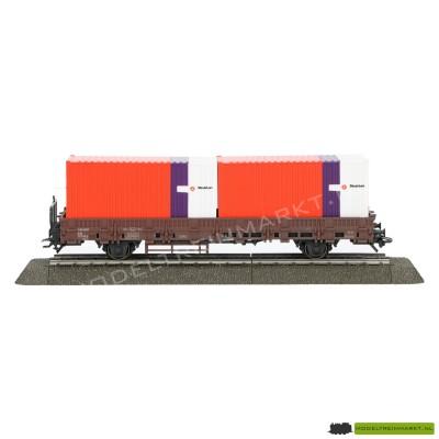 4608 Märklin NS Strukton containerwagen