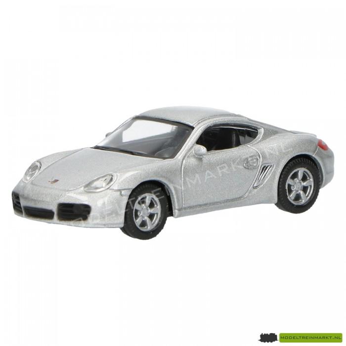 Schuco Porsche Cayman S zilvergrijs