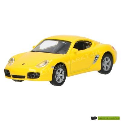 Schuco Porsche Cayman S geel