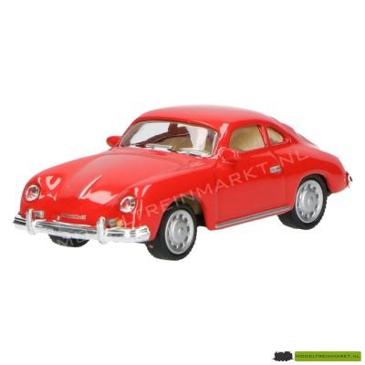 Schuco Porsche 356A rood