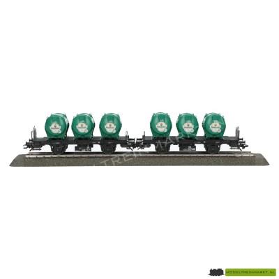 48944 Märklin Set containerdraagwagens Bt 10