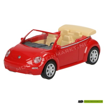 Wiking VW New Beetle Cabrio rood