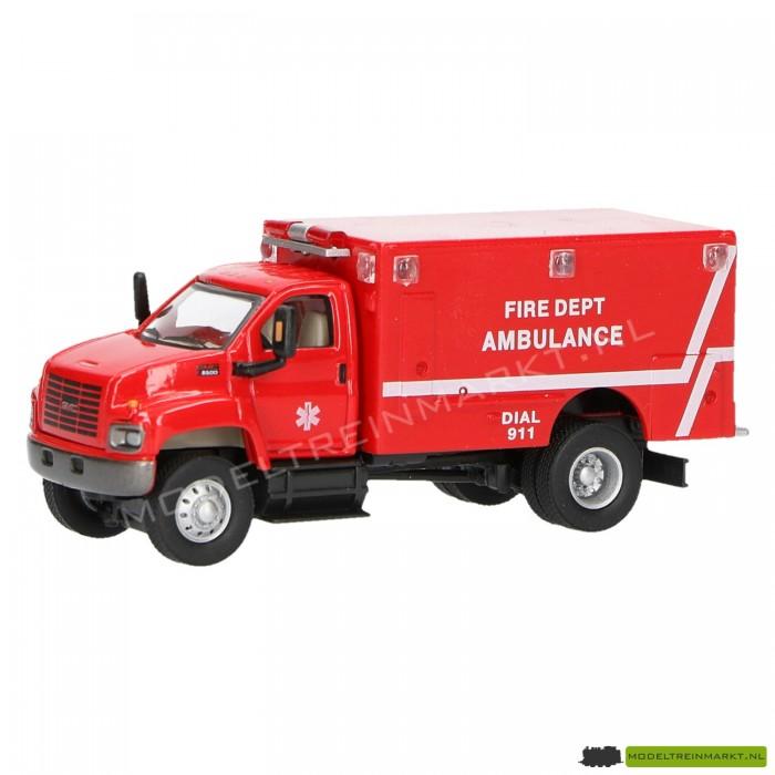 21818 Schuco Brandweer afdeling ambulace