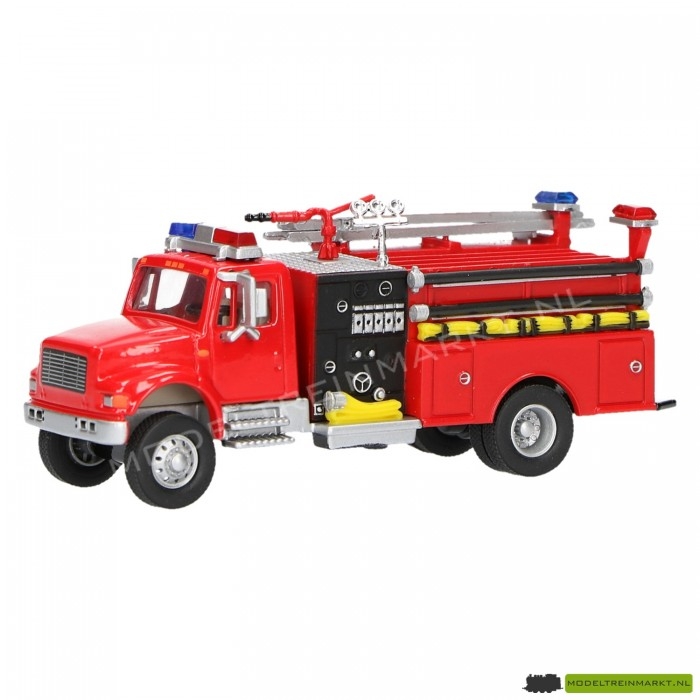 21817 Schuco Brandweer pomp en spuit truck