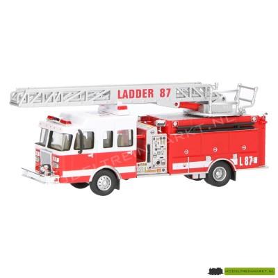 21807 Schuco Brandweer ladderwagen