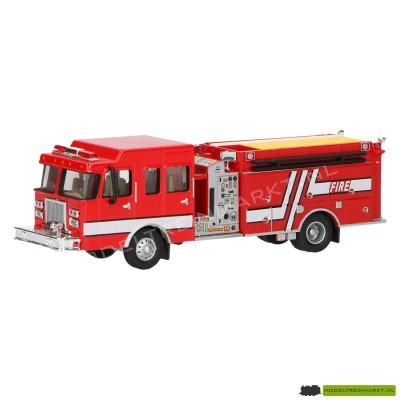 21813 Schuco Brandweer pomp en spuit truck