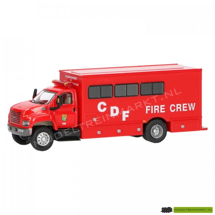 21820 Schuco Brandweer GMC bemanningwagen