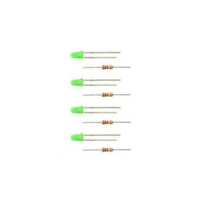 3552 Viessmann 4 LEDs groen