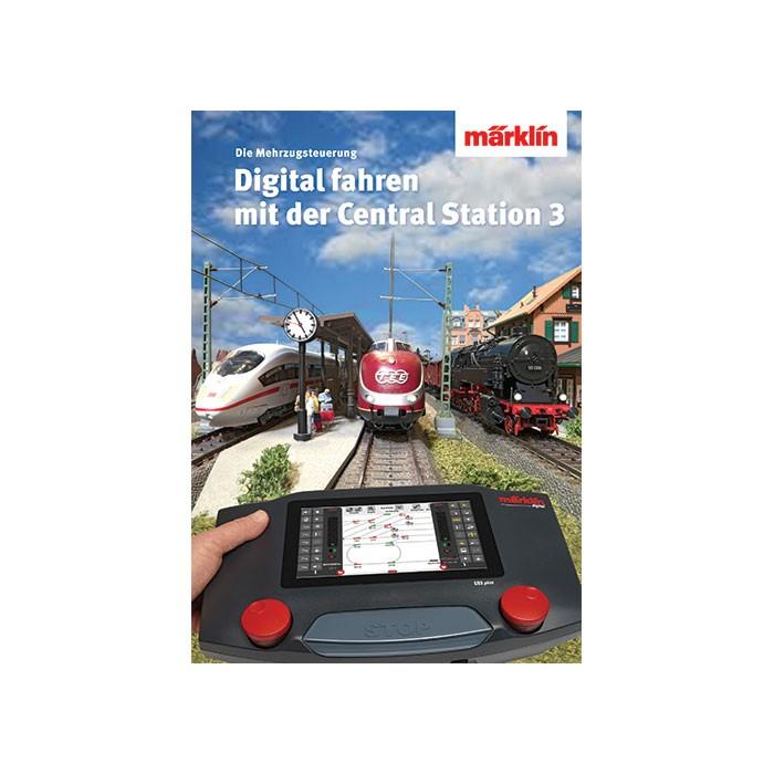 03082 Märklin Boek 'Digitaal rijden met CS3' (Duits)