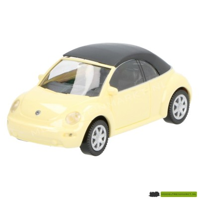 Wiking VW New Beetle Cabrio licht geel