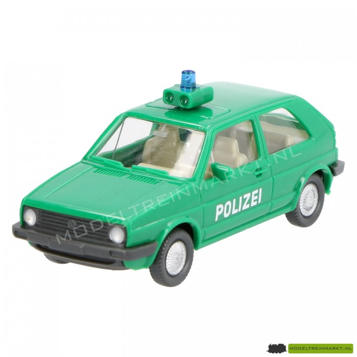 13 104 Wiking Politie - VW Golf
