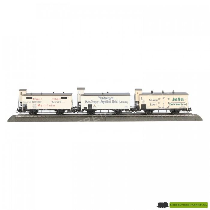 """48922 Märklin wagen-set """"Vleestransport"""" Met NL wagon"""